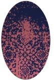 rug #1118355 | oval traditional rug
