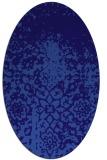 rug #1118362 | oval traditional rug