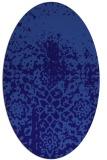 rug #1118363 | oval faded rug