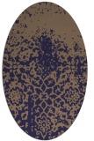 rug #1118366 | oval natural rug