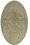 rug #1118601 | oval faded rug