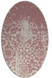 rug #1118615   oval faded rug