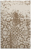 rug #1118782 |  mid-brown graphic rug
