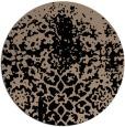 rug #1119006 | round beige natural rug