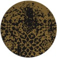 rug #1119014 | round mid-brown natural rug