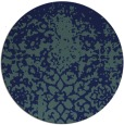 rug #1119035 | round faded rug