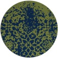 rug #1119038 | round blue traditional rug