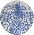 rug #1119042 | round blue faded rug
