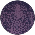 rug #1119095 | round faded rug