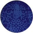rug #1119098 | round traditional rug