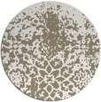rug #1119154 | round white traditional rug