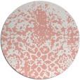 rug #1119226 | round white popular rug