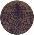 rug #1119238 | round purple natural rug
