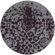 rug #1119242 | round purple faded rug