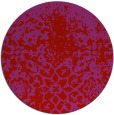rug #1119258 | round red natural rug