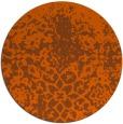 rug #1119270   round red-orange natural rug