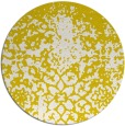 rug #1119286 | round white traditional rug