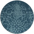rug #1119305 | round faded rug