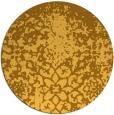 rug #1119322 | round light-orange faded rug