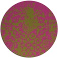 rug #1119338 | round light-green graphic rug