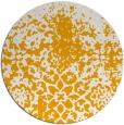 rug #1119346 | round light-orange graphic rug