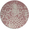 rug #1119351 | round faded rug
