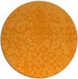 rug #1119354 | round light-orange natural rug