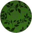 rug #1121658 | round light-green rug