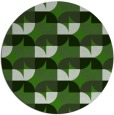 rug #1121778 | round light-green natural rug