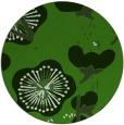 rug #1121798 | round green rug