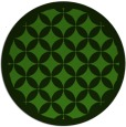 rug #1121918 | round light-green circles rug