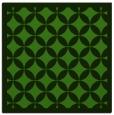 rug #1121926 | square light-green traditional rug
