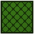 rug #1121946 | square light-green borders rug