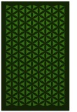 rug #1122054 |  green traditional rug
