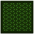 rug #1122066 | square light-green rug