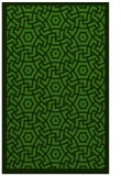 rug #1122234    light-green circles rug