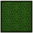 rug #1122246   square light-green circles rug