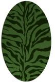 rug #1122433   oval stripes rug