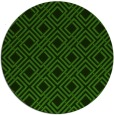 rug #1122458 | round green check rug