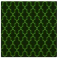 rug #1122546 | square green traditional rug