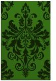 rug #1122674 |  green damask rug