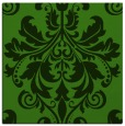 rug #1122686 | square light-green damask rug