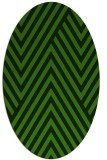 rug #1122690 | oval light-green rug