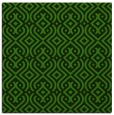 rug #1122771 | square light-green rug