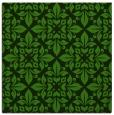 rug #1122811 | square light-green geometry rug