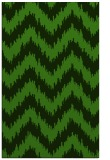 rug #1122839 |  green stripes rug