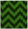rug #1122851 | square light-green stripes rug