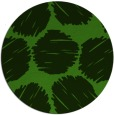 rug #1122883 | round light-green rug