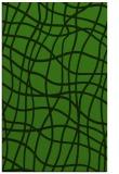 rug #1122939 |  green stripes rug
