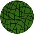 rug #1122943 | round green rug